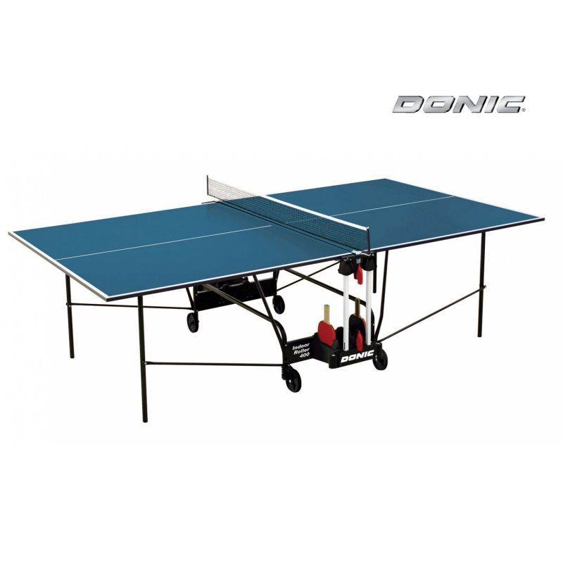 Фотография Теннисный стол Donic Indoor Roller 400 синий 0