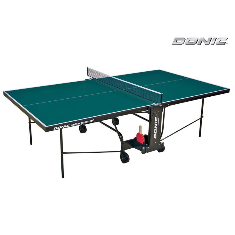 Фотография Теннисный стол Donic Indoor Roller 600 зеленый 0