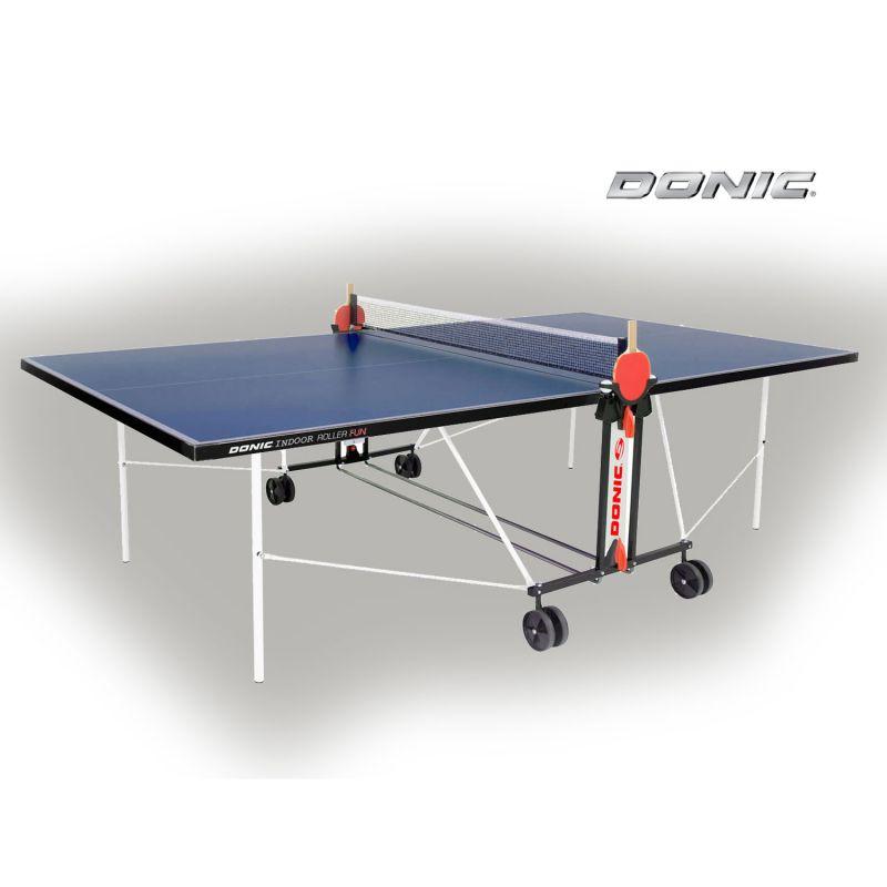 Фотография Теннисный стол Donic Outdoor Roller FUN синий 0