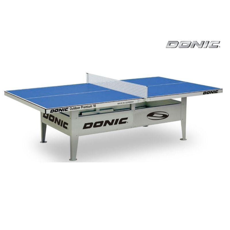 Фотография Всепогодный Теннисный стол Donic Outdoor Premium 10 синий 0