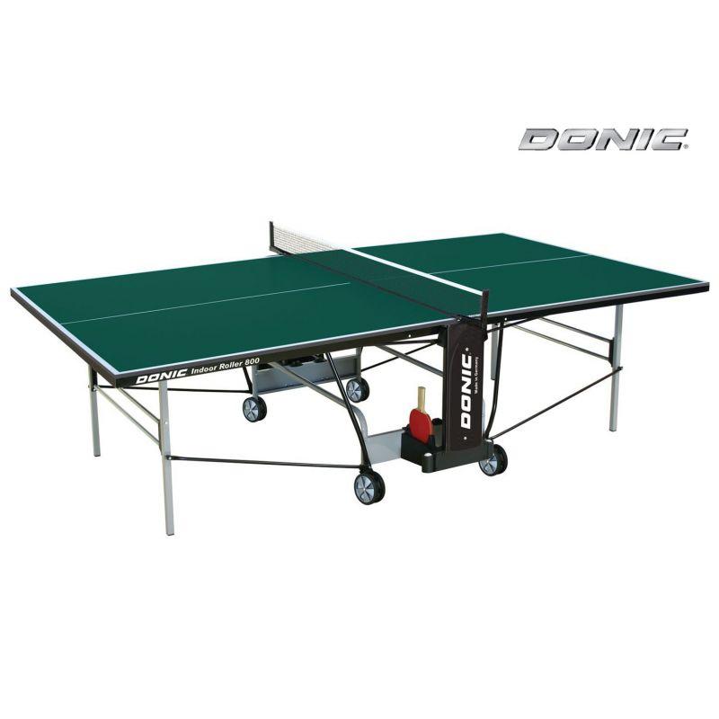 Фотография Теннисный стол Donic Indoor Roller 800 зеленый 0