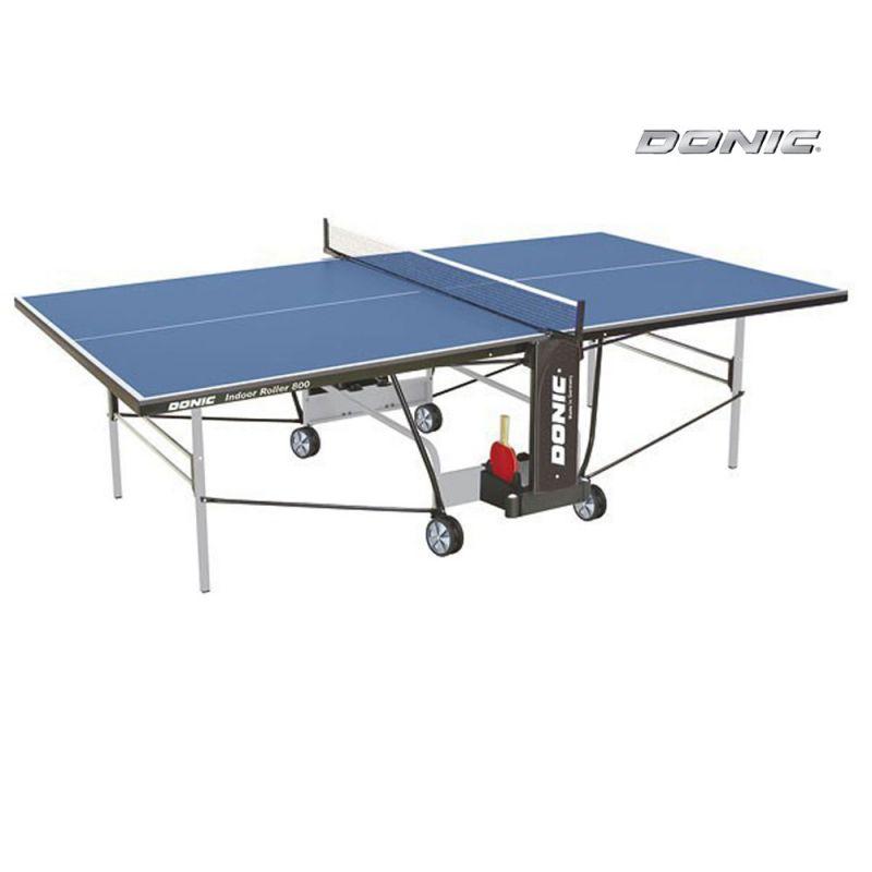 Фотография Теннисный стол Donic Indoor Roller 800 синий 0