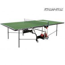 Миниатюра Всепогодный теннисный стол Donic Outdoor Roller 400 зеленый 0  мини
