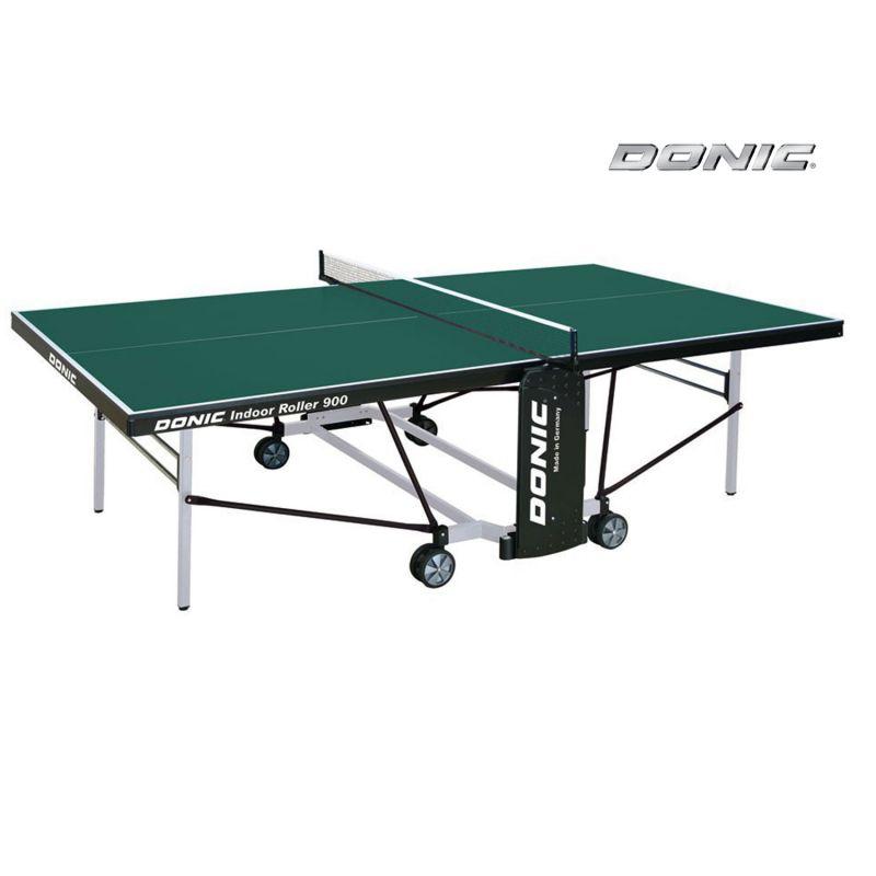 Фотография Теннисный стол Donic Indoor Roller 900 зеленый 0