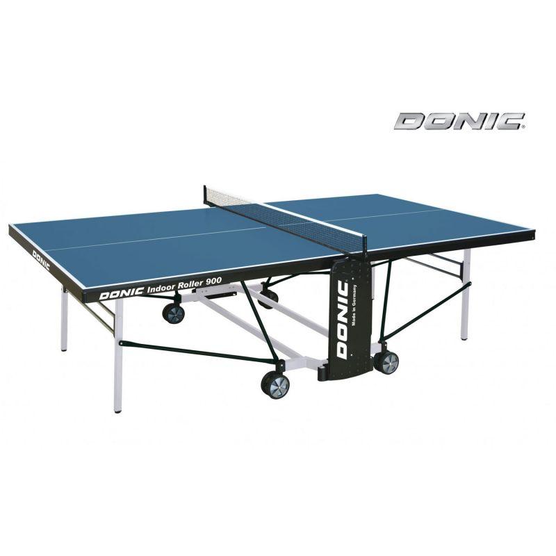 Фотография Теннисный стол Donic Indoor Roller 900 синий 0