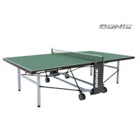 Всепогодный Теннисный стол Donic Outdoor Roller 1000 зеленый