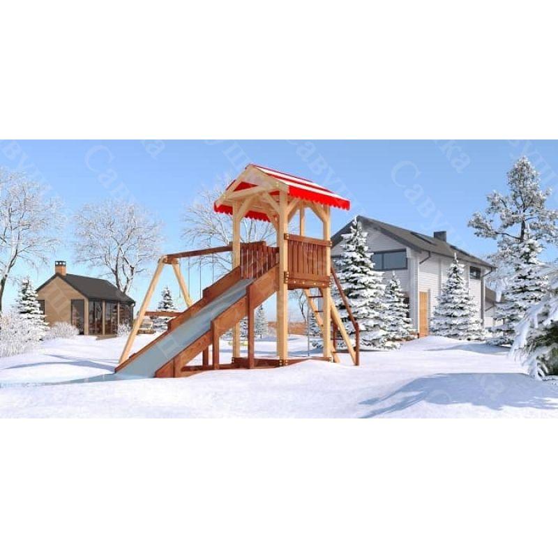 Фотография Детская игровая площадка Савушка «4 сезона-2»  1