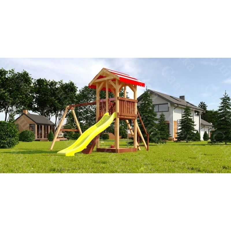 Фотография Детская игровая площадка Савушка «4 сезона-2»  2