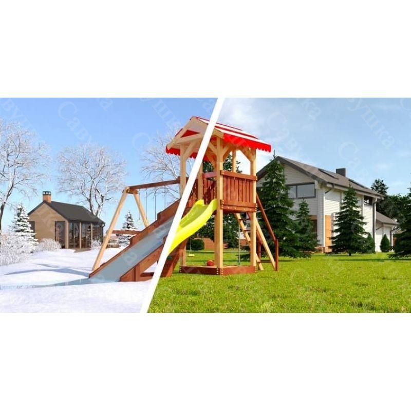 Фотография Детская игровая площадка Савушка «4 сезона-2»  0