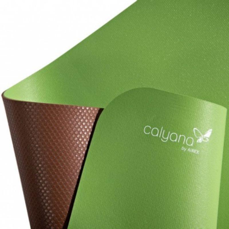 Фотография Коврик для йоги Airex Prime Yoga Calyana02, цвет: лайм-орех 3