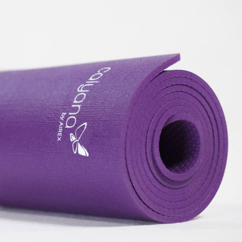 Фотография Коврик для йоги Airex Prime Yoga Calyana04, цвет: фиолетовый 2