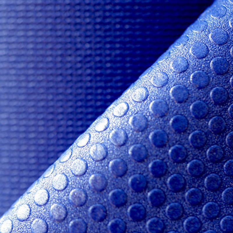 Фотография Коврик для йоги Airex Prime Yoga Calyana01, цвет: синий 4