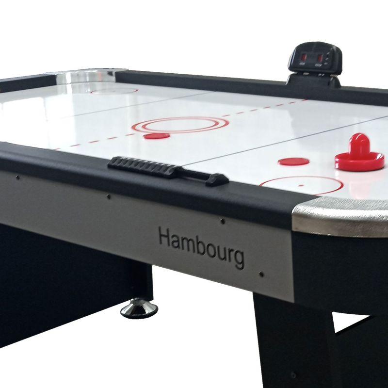 Фотография Игровой стол DFC HAMBOURG 7ft аэрохоккей 4