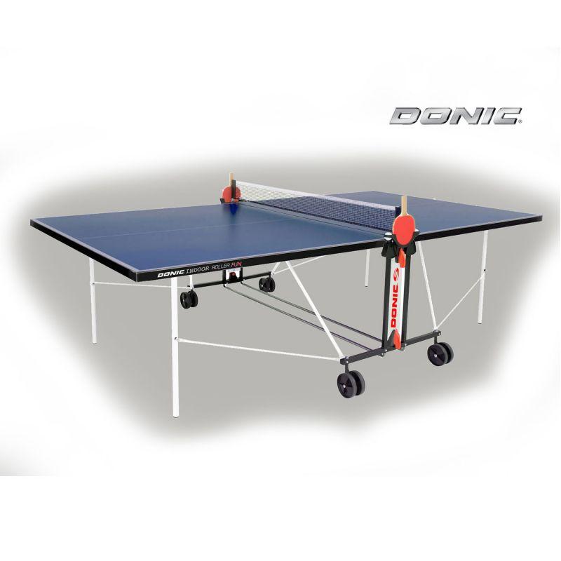 Фотография Теннисный стол Donic Indoor Roller FUN синий 0
