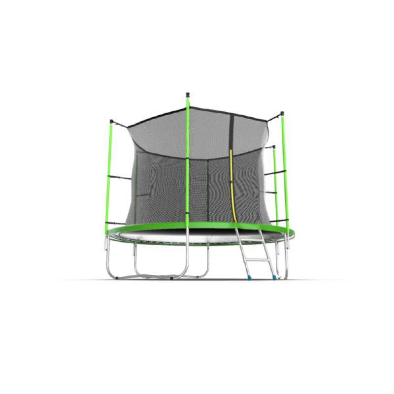 Фотография EVO JUMP Internal 12ft + Lower net. Батут с внутренней сеткой и лестницей, диаметр 12ft + нижняя сеть 3