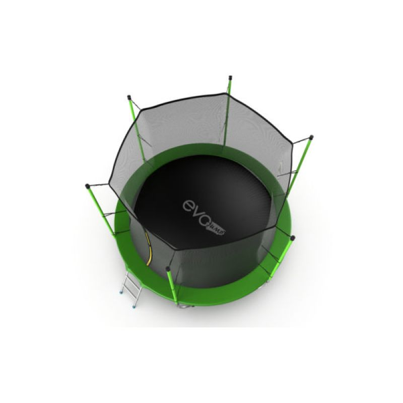 Фотография EVO JUMP Internal 12ft + Lower net. Батут с внутренней сеткой и лестницей, диаметр 12ft + нижняя сеть 2
