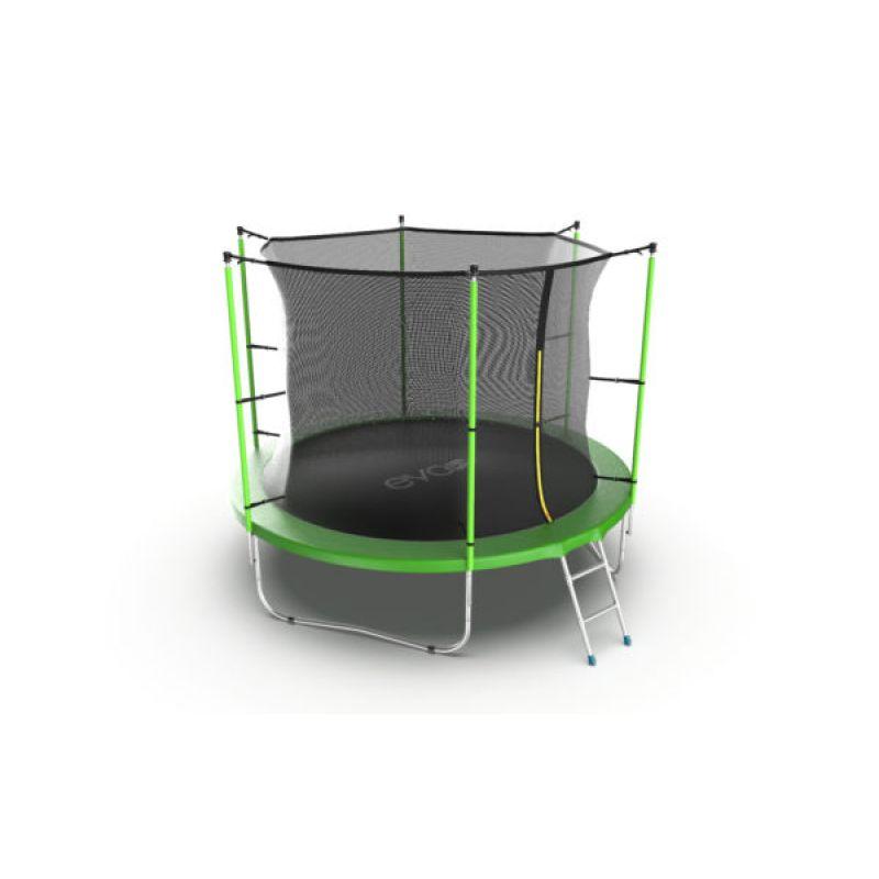 Фотография EVO JUMP Internal 12ft + Lower net. Батут с внутренней сеткой и лестницей, диаметр 12ft + нижняя сеть 5