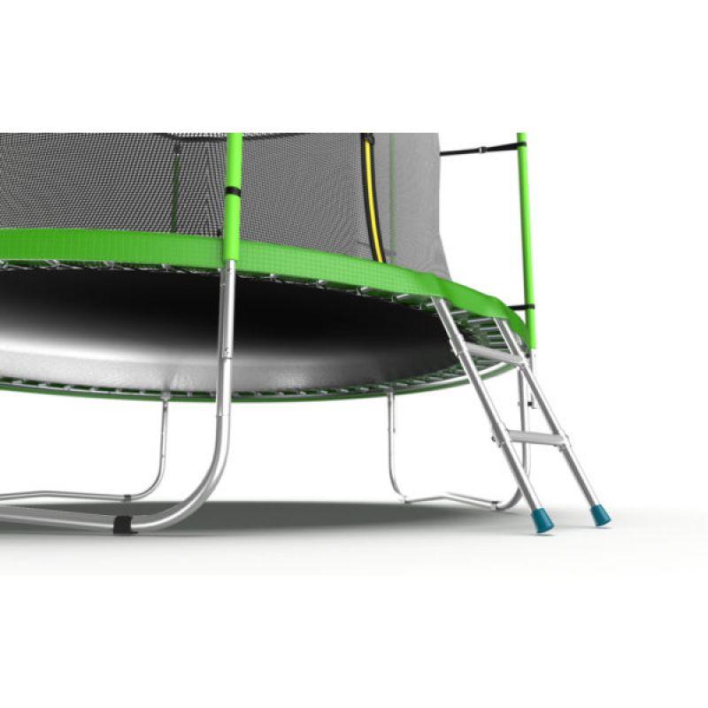 Фотография EVO JUMP Internal 12ft + Lower net. Батут с внутренней сеткой и лестницей, диаметр 12ft + нижняя сеть 4