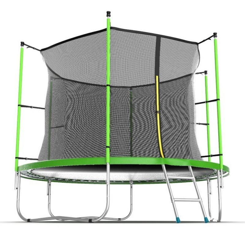Фотография EVO JUMP Internal 12ft + Lower net. Батут с внутренней сеткой и лестницей, диаметр 12ft + нижняя сеть 0