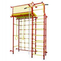 Детский спортивный комплекс Пионер 10С красно/жёлтый