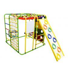 Миниатюра Детский спортивный комплекс Формула здоровья Кубик У Плюс салатовый/радуга 0  мини