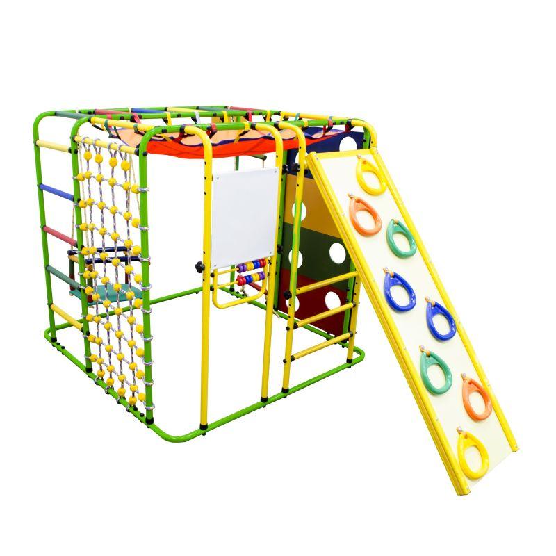 Фотография Детский спортивный комплекс Формула здоровья Кубик У Плюс салатовый/радуга 0