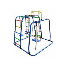 Миниатюра Детский спортивный комплекс Формула здоровья Игрунок Т Плюс синий/радуга 0  мини