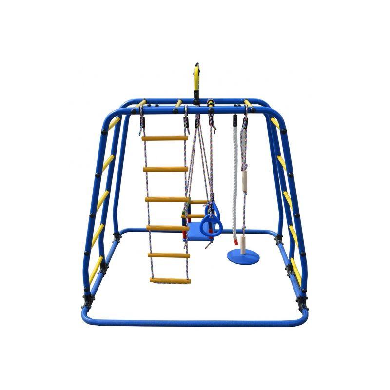 Фотография Детский спортивный комплекс Формула здоровья Игрунок Т Плюс синий/радуга 1