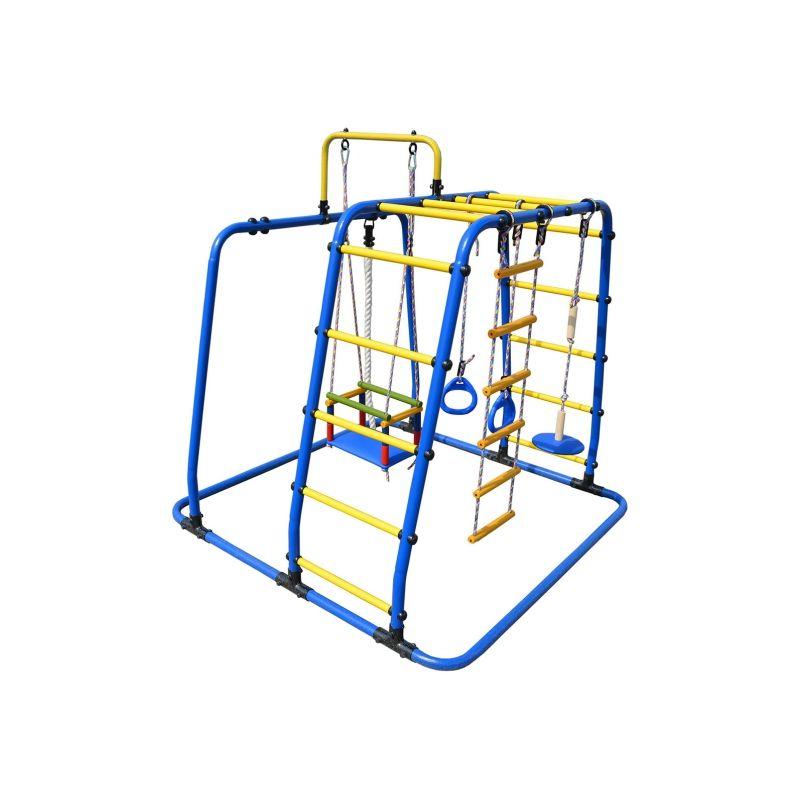 Фотография Детский спортивный комплекс Формула здоровья Игрунок Т Плюс синий/радуга 2