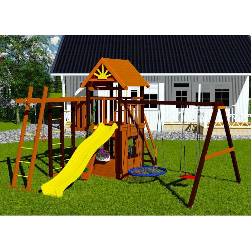 Фотография Деревянная детская площадка Марк 3 1