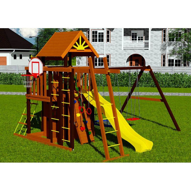 Фотография Деревянная детская площадка Марк 3 2