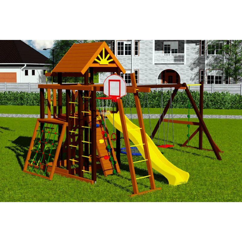 Фотография Деревянная детская площадка Марк 4 1