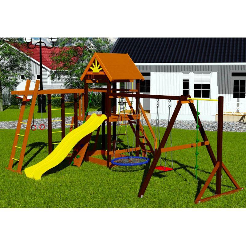 Фотография Деревянная детская площадка Марк 4 11