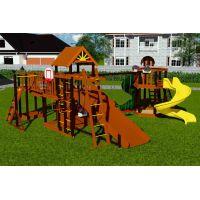 Деревянная детская площадка Марк 8
