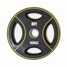 Миниатюра Диск для штанги олимпийский полиуретановый 10 кг 0  мини