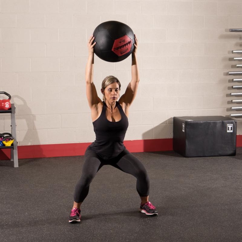 Фотография Тренировочный мяч мягкий WALL BALL 7,3 кг (16lb) 4