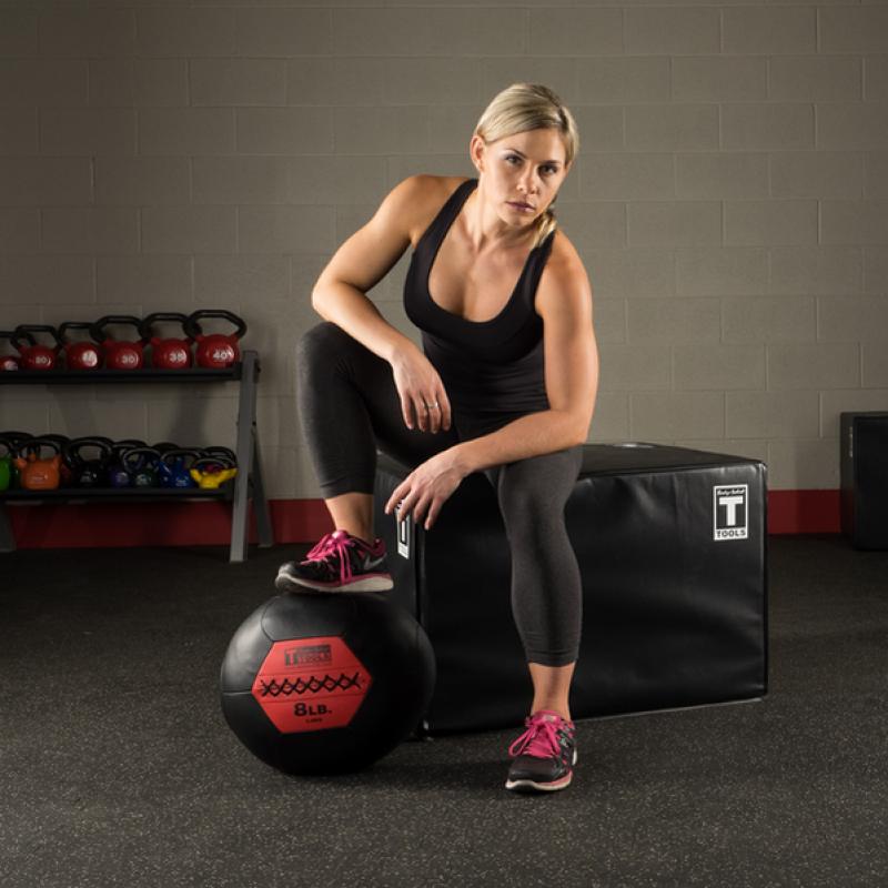 Фотография Тренировочный мяч мягкий WALL BALL 7,3 кг (16lb) 2