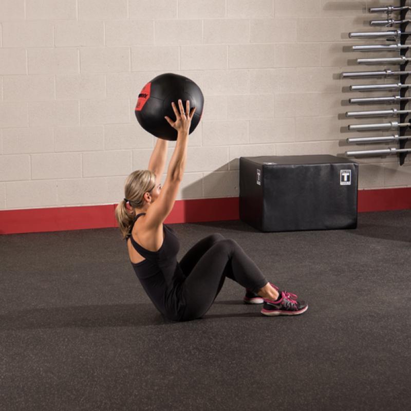 Фотография Тренировочный мяч мягкий WALL BALL 8,2 кг (18lb) 3