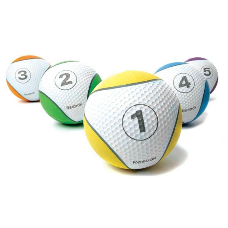 Фотография Мяч тренировочный Reebok 1 кг, желтый 1