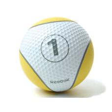 Миниатюра Мяч тренировочный Reebok 1 кг, желтый 0  мини