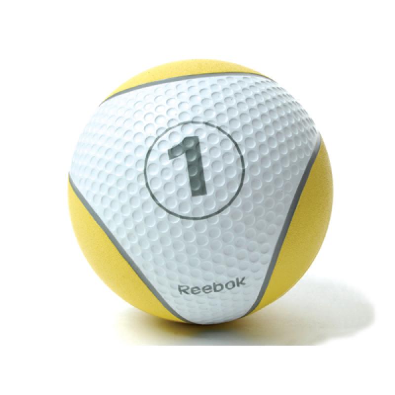 Фотография Мяч тренировочный Reebok 1 кг, желтый 0