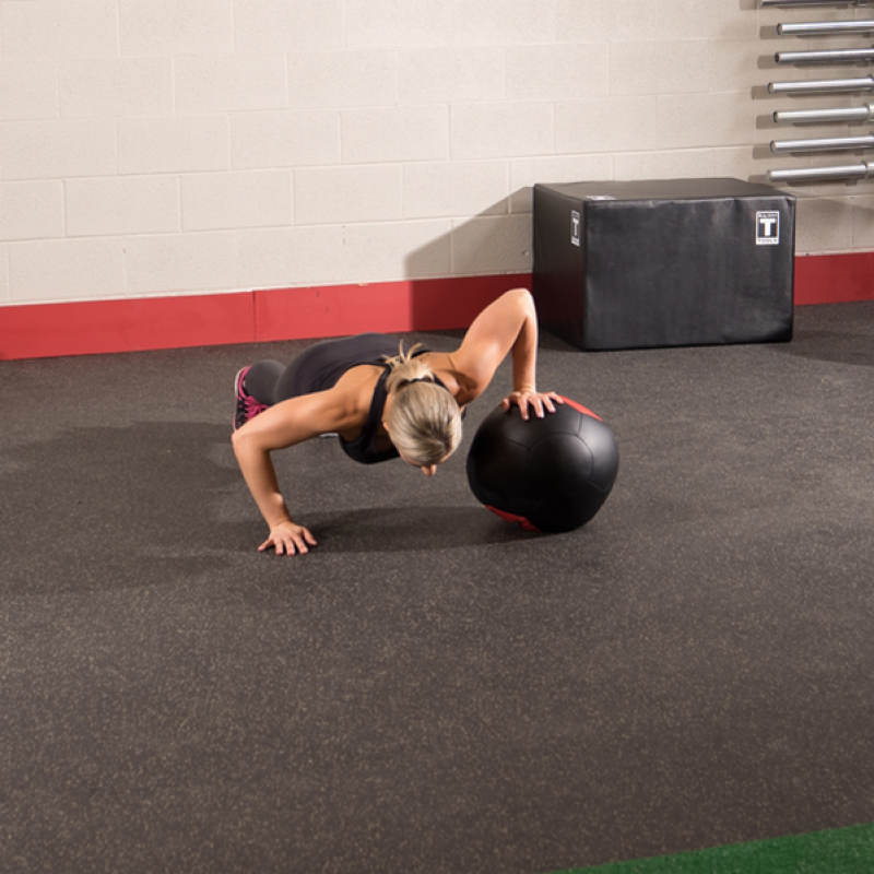 Фотография Тренировочный мяч мягкий WALL BALL 8,2 кг (18lb) 2