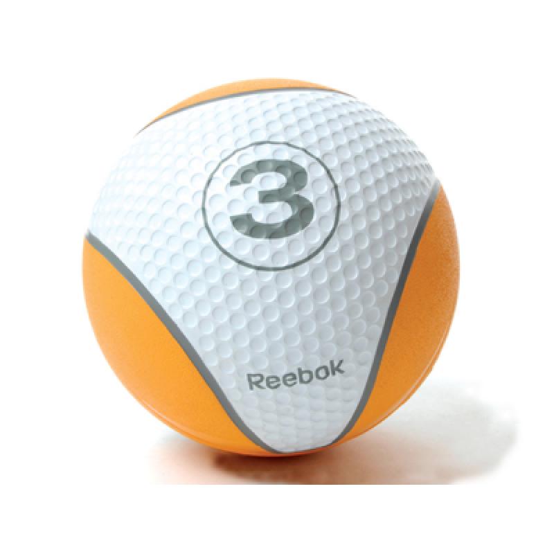 Фотография Мяч тренировочный Reebok 3 кг, оранжевый 0