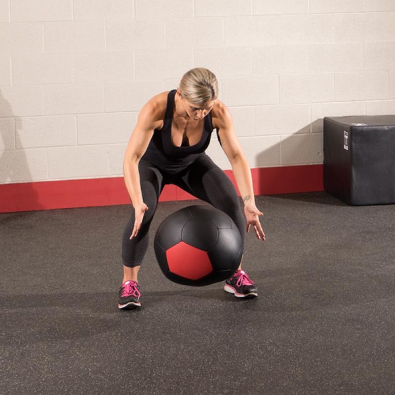 Фотография Тренировочный мяч мягкий WALL BALL 6,4 кг (14lb) 1