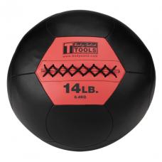Миниатюра Тренировочный мяч мягкий WALL BALL 6,4 кг (14lb) 0  мини