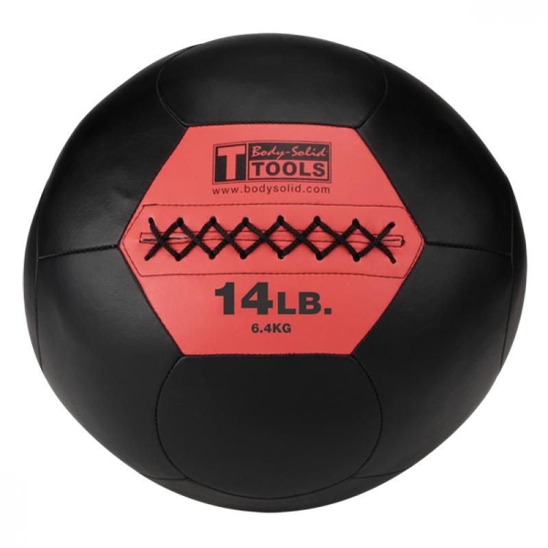 Фотография Тренировочный мяч мягкий WALL BALL 6,4 кг (14lb) 0