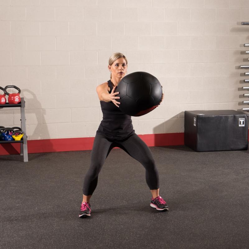 Фотография Тренировочный мяч мягкий WALL BALL 6,4 кг (14lb) 3