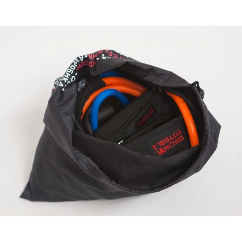 Фотография Набор эспандеров трубчатых (6 шт.) и аксессуаров в сумке 12