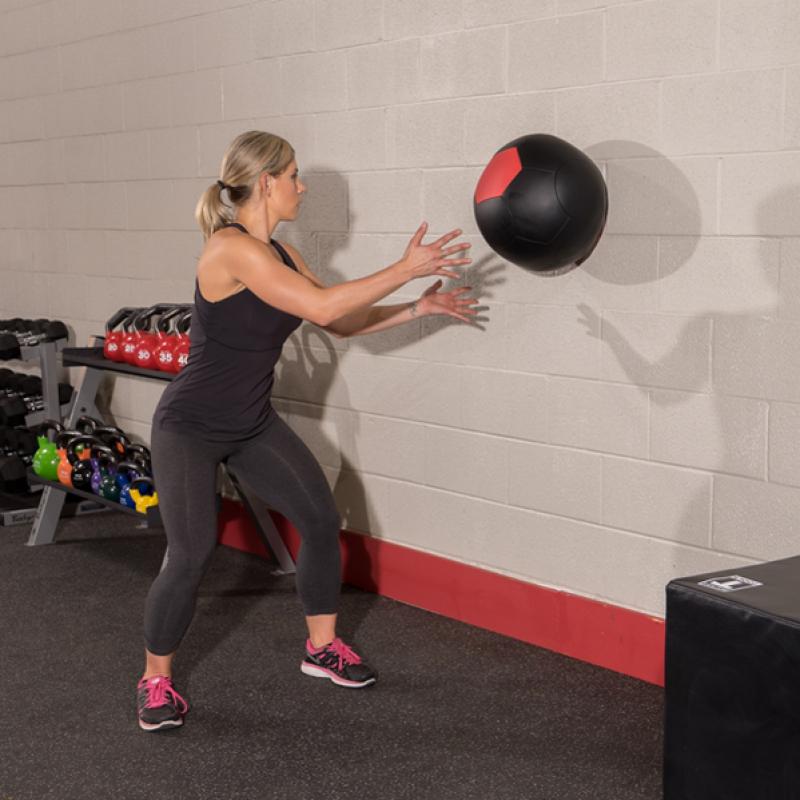 Фотография Тренировочный мяч мягкий WALL BALL 13,6 кг (30lb) 4