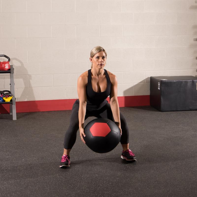 Фотография Тренировочный мяч мягкий WALL BALL 13,6 кг (30lb) 2